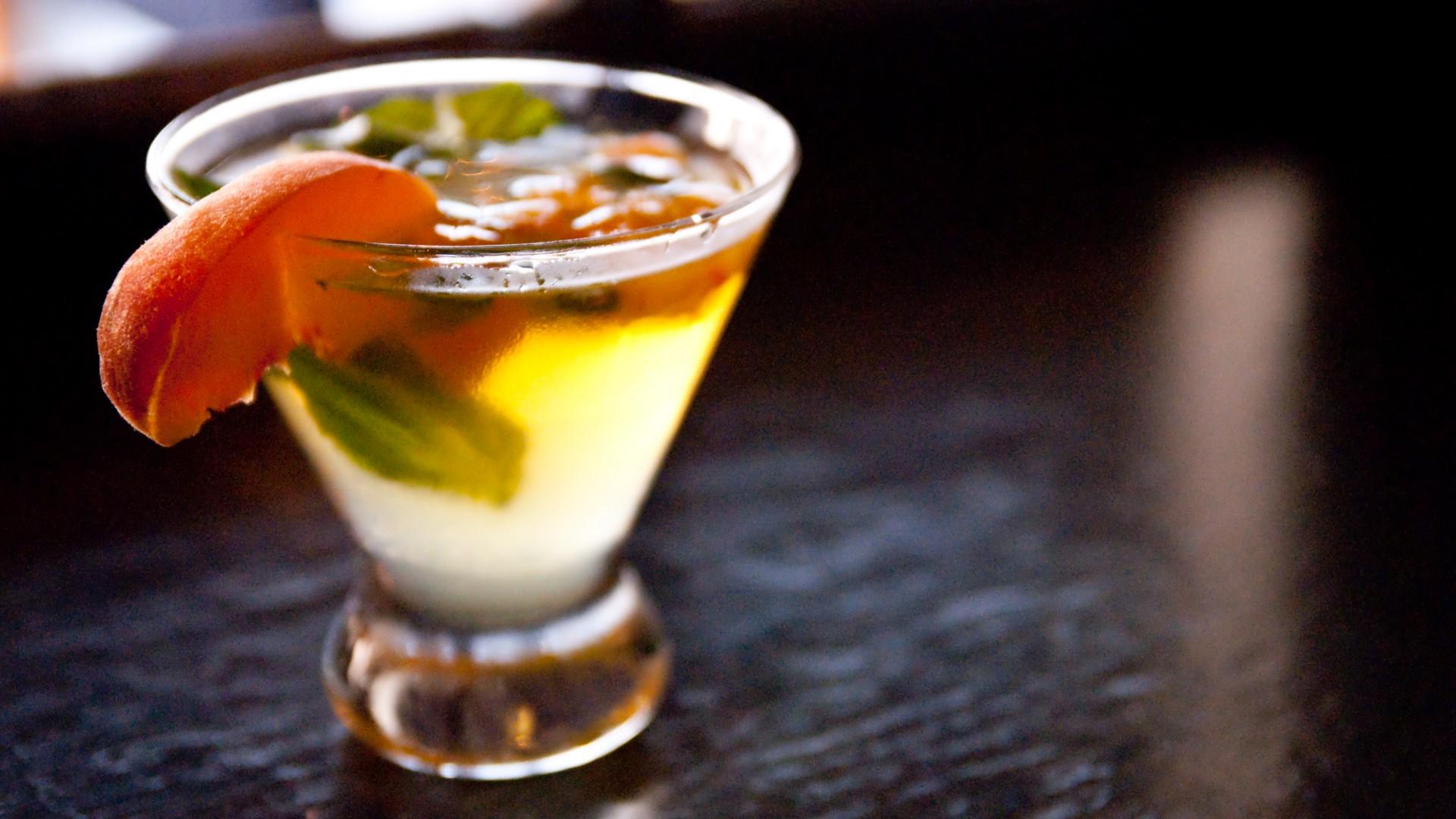 Wallpaper cocktails shots mint orange rum food 761 for Food bar orange