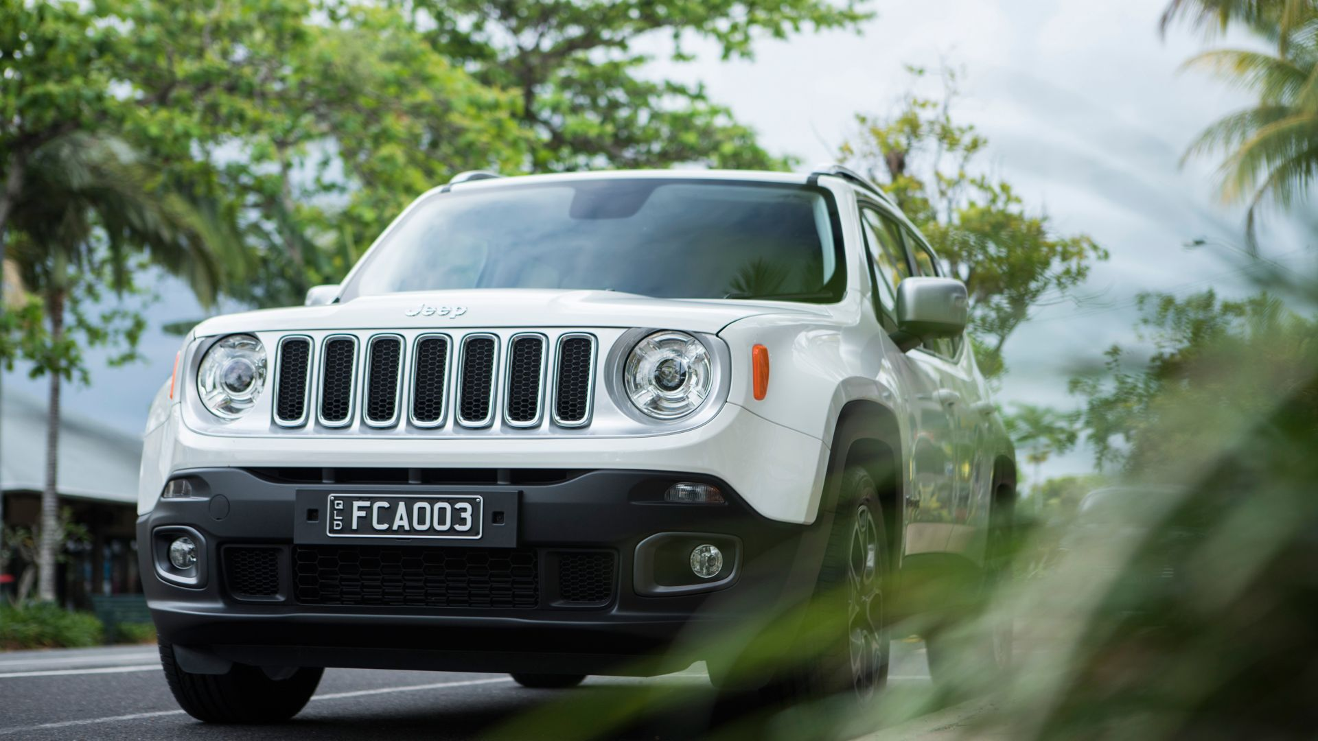 Wallpaper Jeep Renegade Limited White Suv Cars Bikes 7640