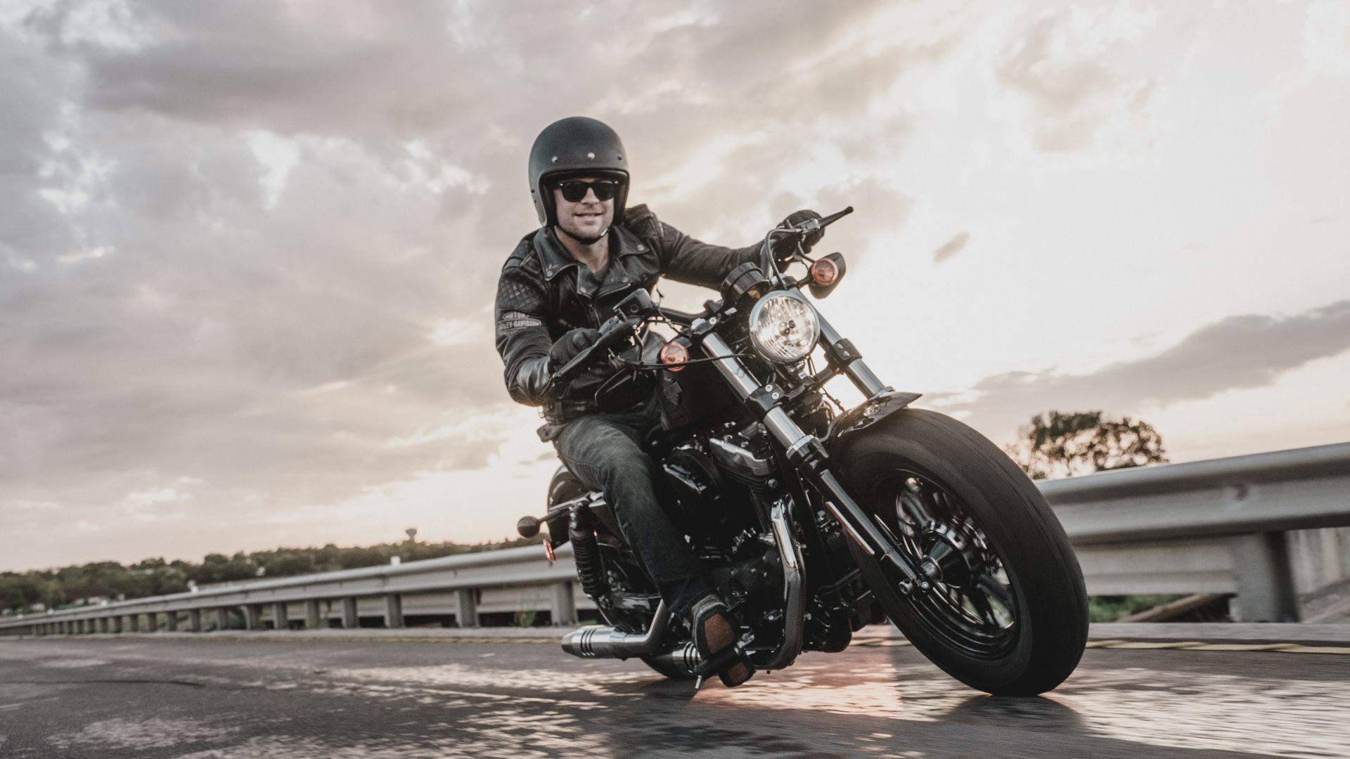 Wallpaper Harley Davidson Iron 883, Black, Bike Year 2016