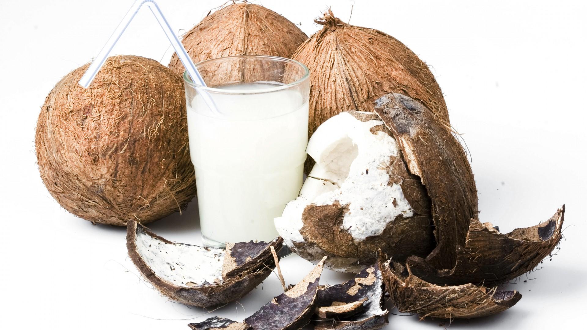 wallpaper coconut milk food 814