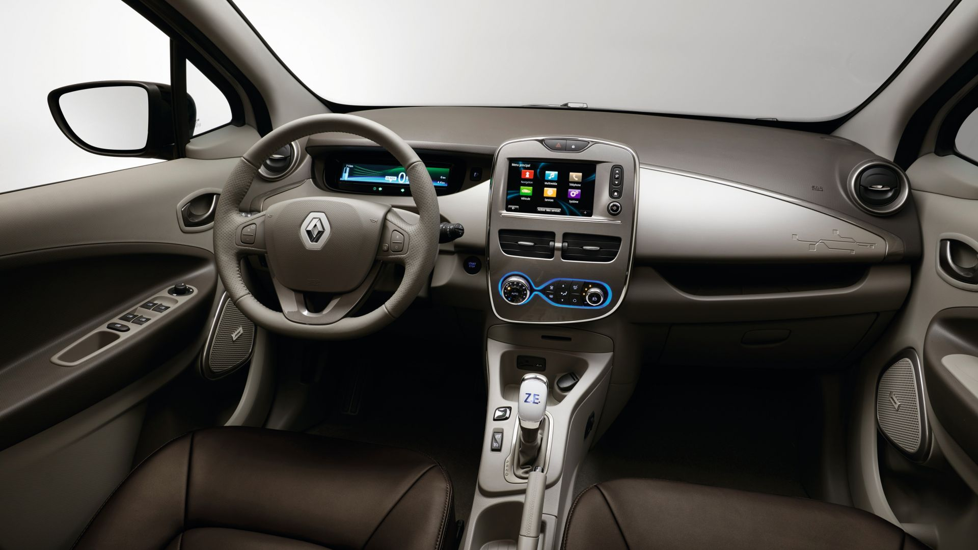 Renault Zoe Z.E., Swiss Edition, Geneva Auto Show 2016, electric car, interior (horizontal)