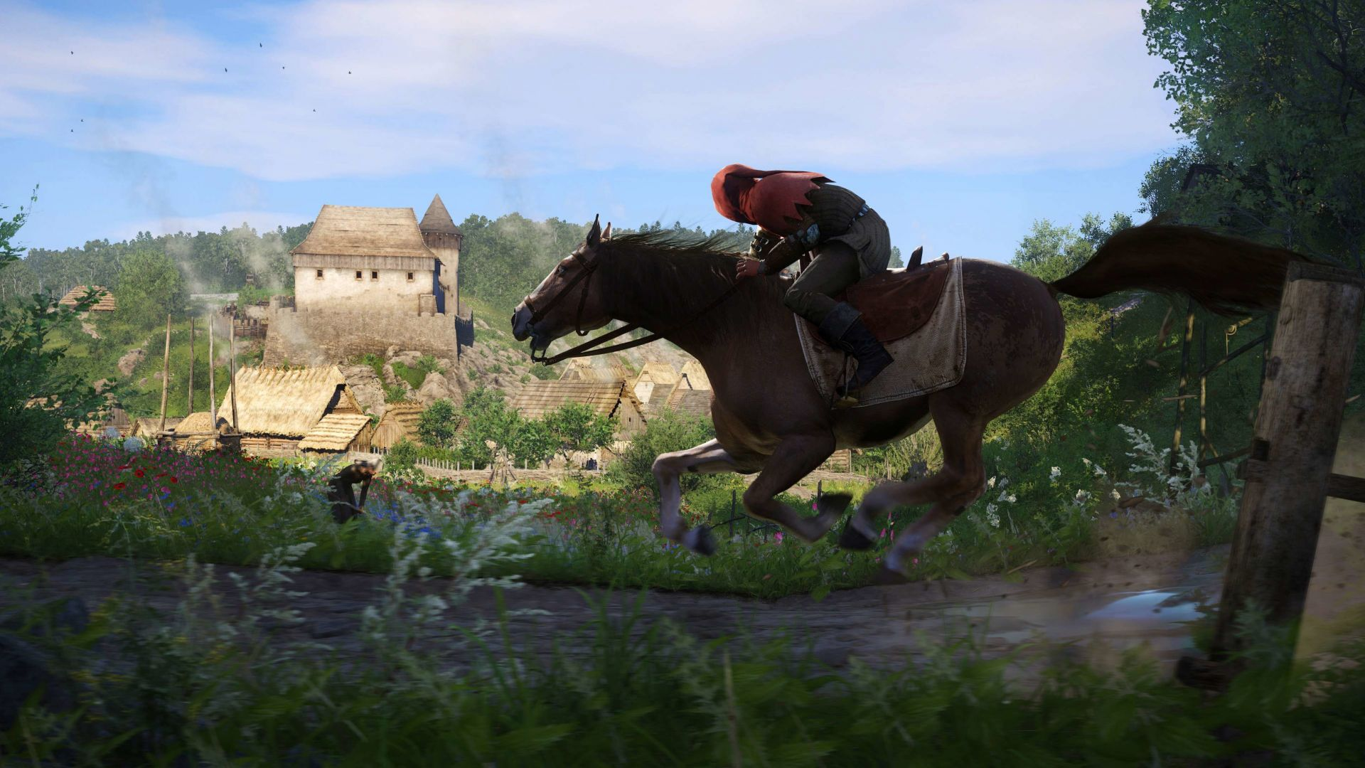 Kingdom Come: Deliverance, best games, open world, PC, PS4, Xbox One (horizontal)