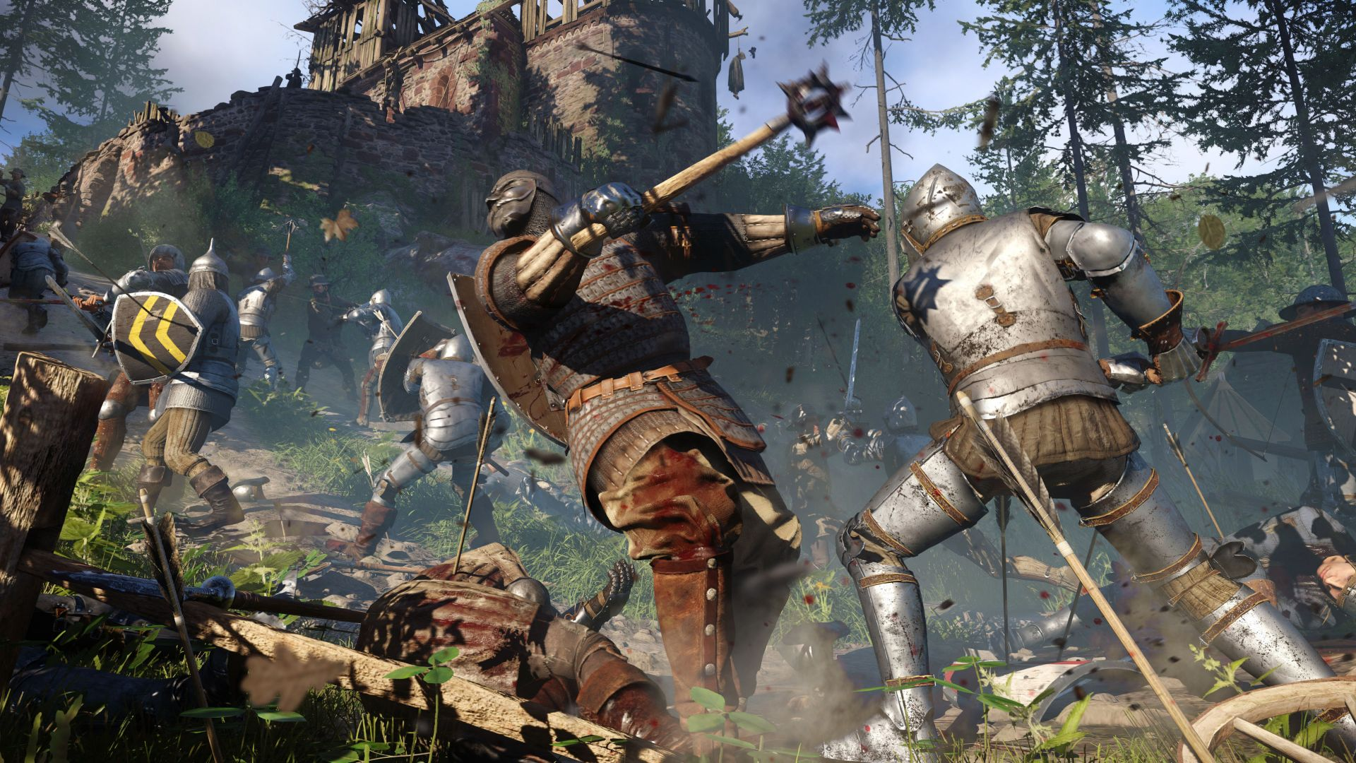 Games That Come With The Ps4 : Wallpaper kingdom come deliverance best games of