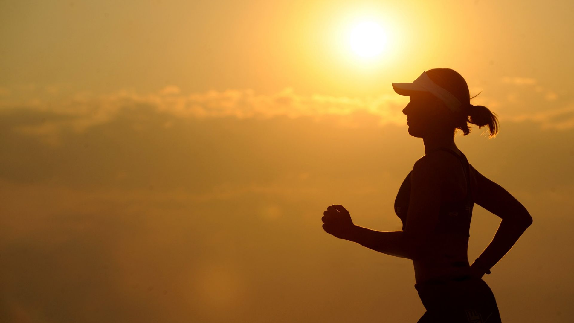 Wallpaper Girl Training Weight Loss Sports Figure