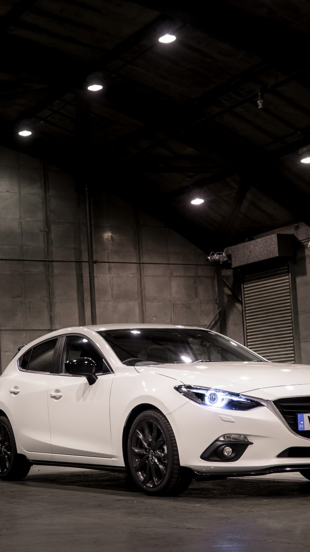 Mazda3 Sport Black Special Edition, sport car, white (vertical)