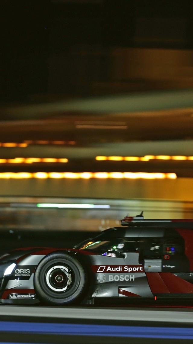 Wallpaper Audi R18 E Tron Quattro Lmp1 Hydrid Sport Car