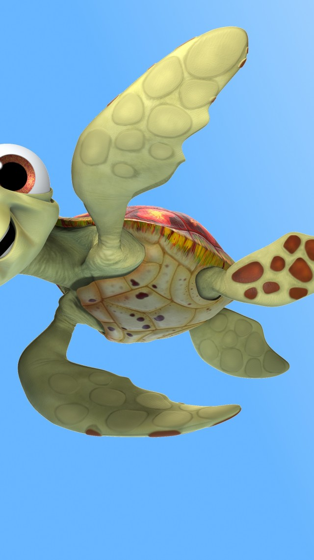Wallpaper Finding Dory, ramp, turtle, Pixar, animation ...
