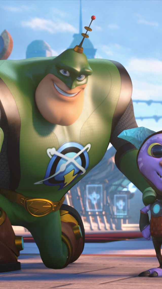 Wallpaper Ratchet & Clank, Clank, robot, best animation movies of