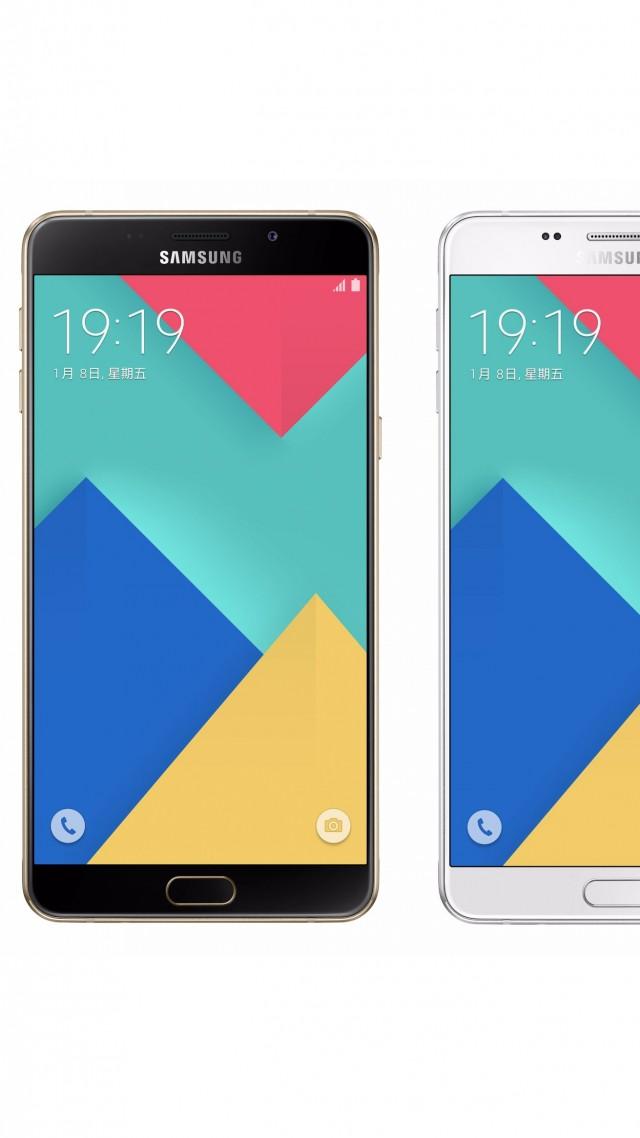 Wallpaper Samsung Galaxy A9 Best Smartphones 2016 Hi Tech 10108