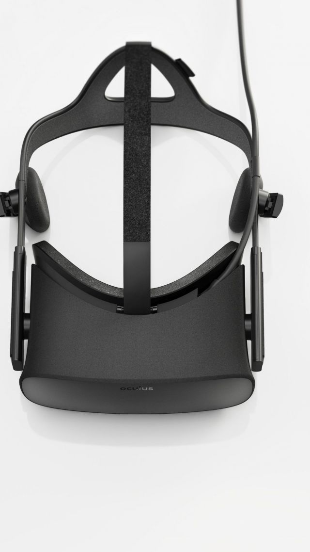 Oculus Rift Touch Virtual Reality VR Headset Vertical