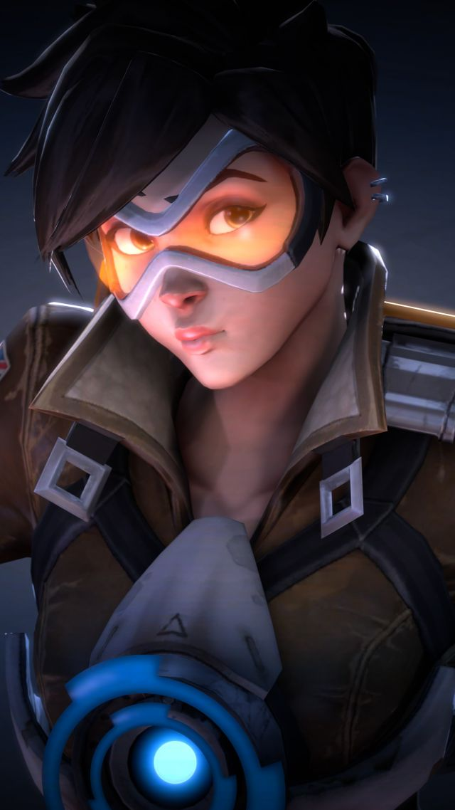 Wallpaper Tracer Hd 4k Overwatch Games 10203