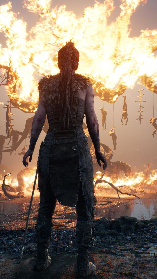 Wallpaper Hellblade Senuas Sacrifice Best Games Fantasy