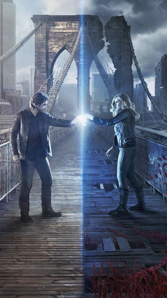 12 Monkeys, Aaron Stanford, Amanda Schull, Best TV Series, 2 season (vertical)