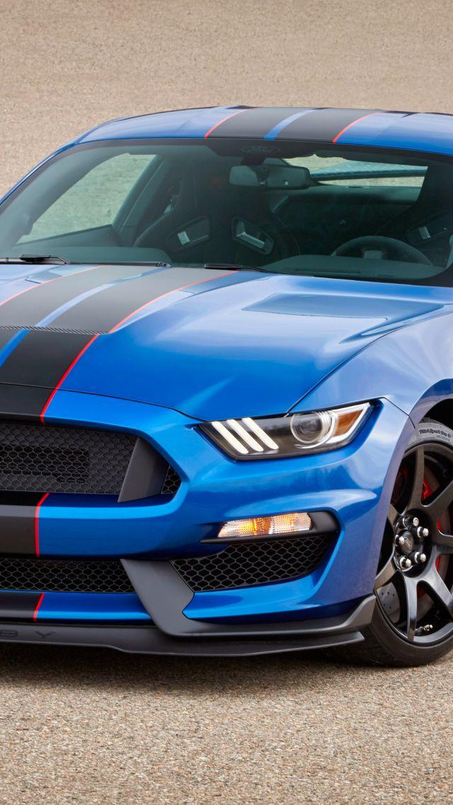 wallpaper mustang shelby gt hardsedan muscle car blue cars bikes