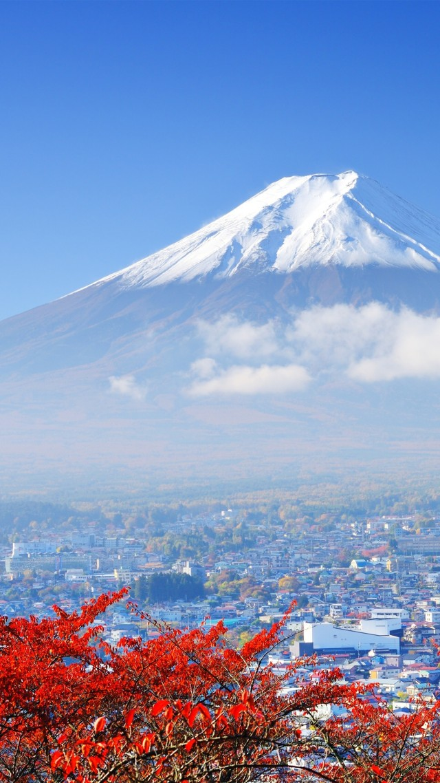fuji, 4k, HD wallpaper, japan, travel, tourism, National Geographic Traveler Photo Contest (vertical)