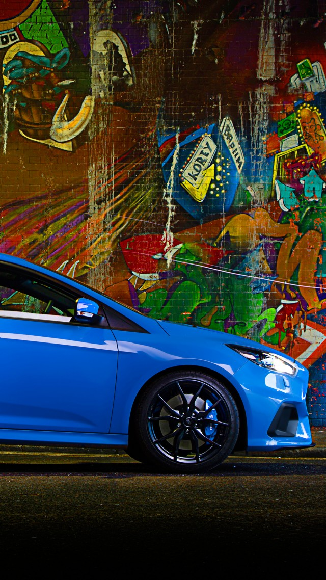 Wallpaper Ford Focus Rs Hatchback Blue Cars Amp Bikes 10417