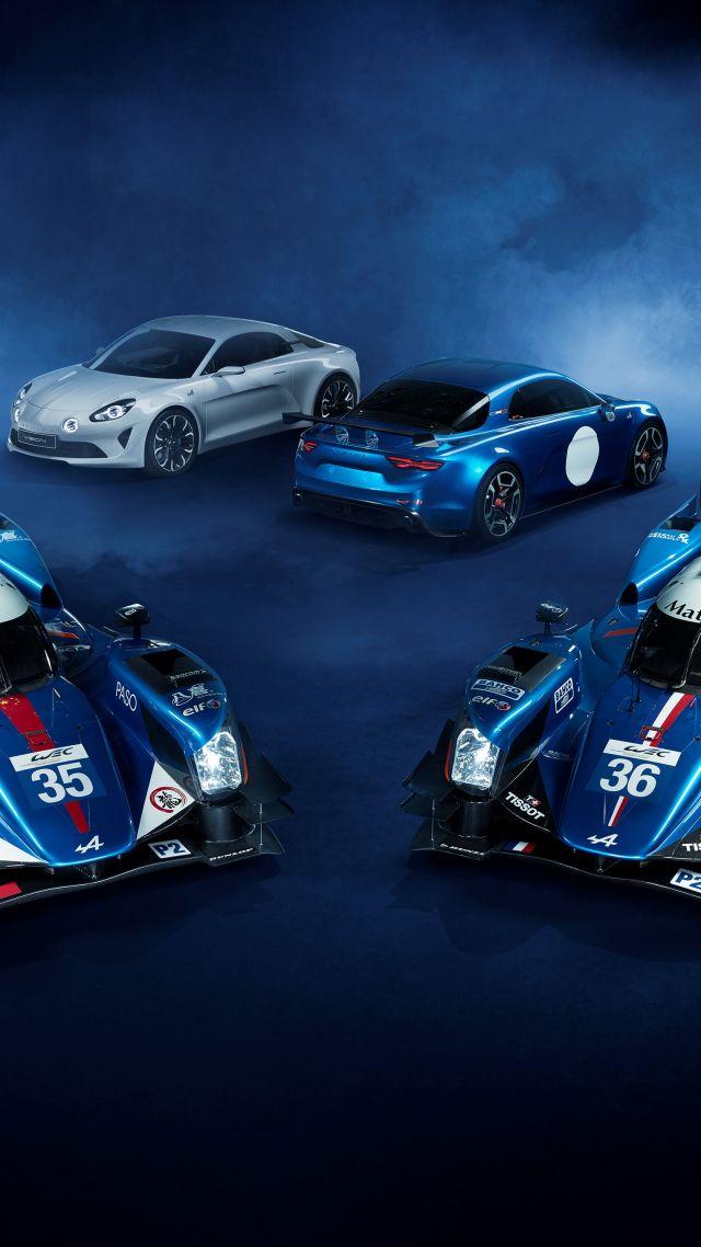 Wallpaper Renault Alpine A460 Sport Cars Le Mans Lmp2
