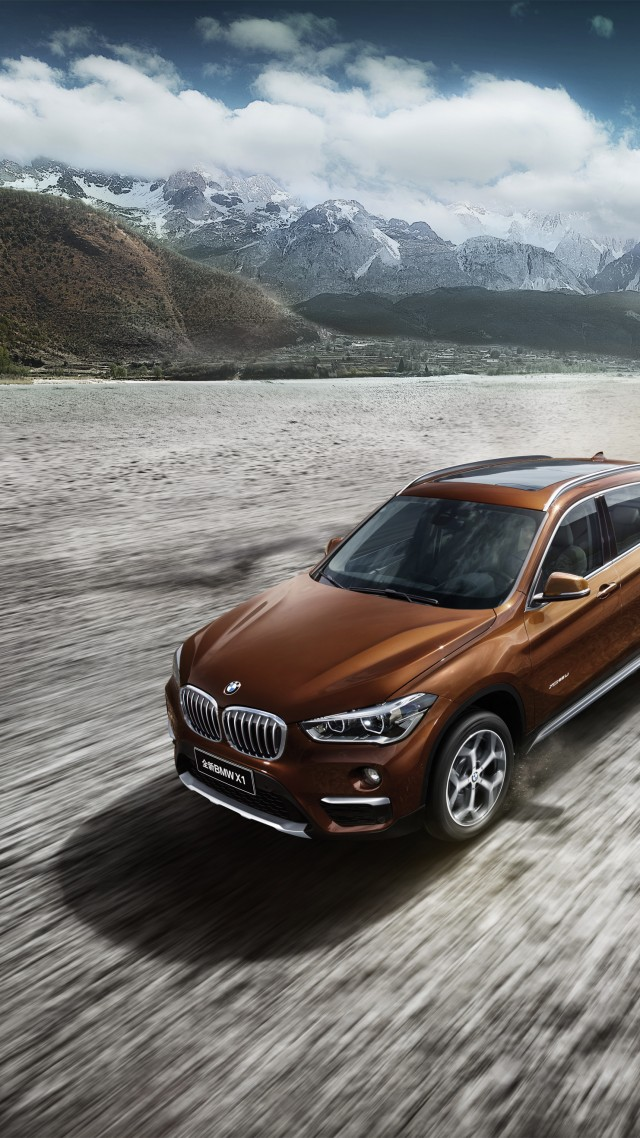 BMW X1 xDrive25, i xLine, Beijing Motor Show 2016, Auto China 2016, crossover (vertical)