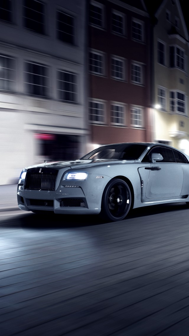 Wallpaper Spofec Rolls Royce Wraith Overdose Silver Luxury Cars