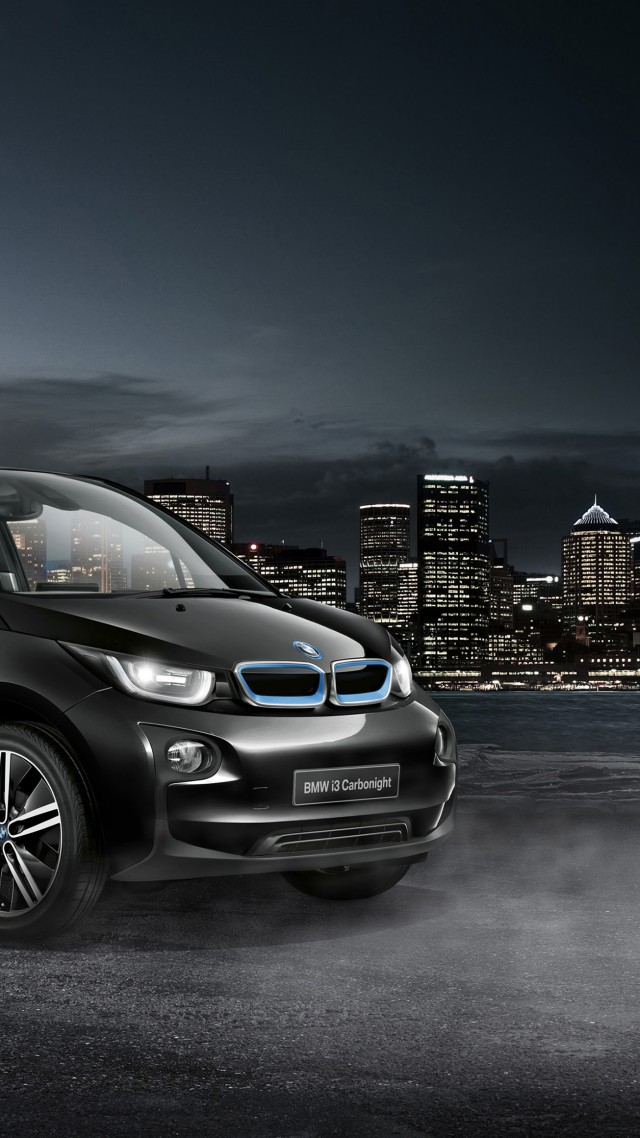 Wallpaper Bmw I3 Carbonight Electric Cars Electric Black Cars