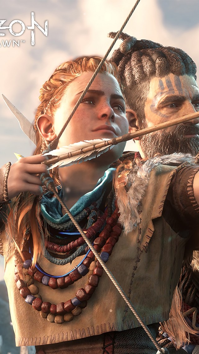 Horizon Zero Dawn, action role-playing, PlayStation 4, Xbox One, Windows, Best Games (vertical)