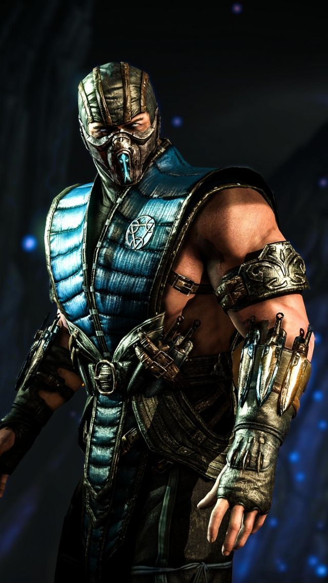 MORTAL KOMBAT X SUB ZERO Fighting PS4 Xbox One Vertical