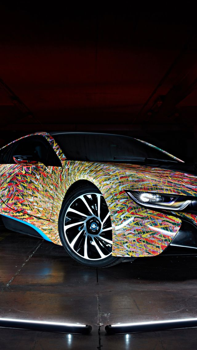 "BMW i8 ""Futurism Edition"", Garage Italia Customs, supercar (vertical)"