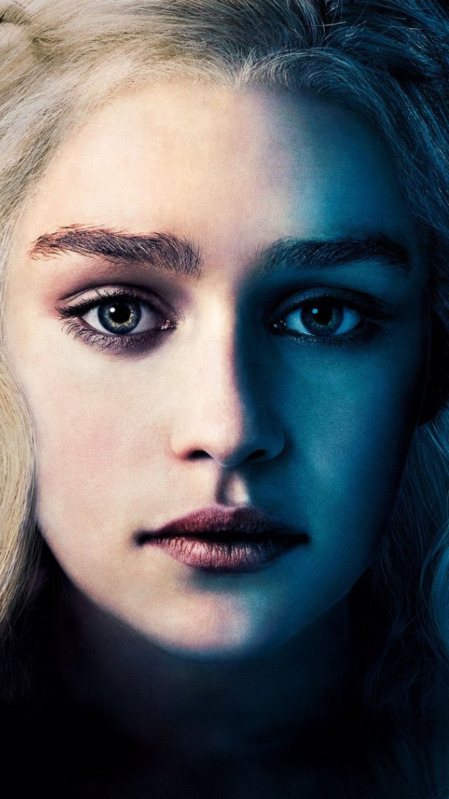 Game of Thrones, Daenerys Targaryen, Emilia Clarke, Best TV Series, 6 season (vertical)