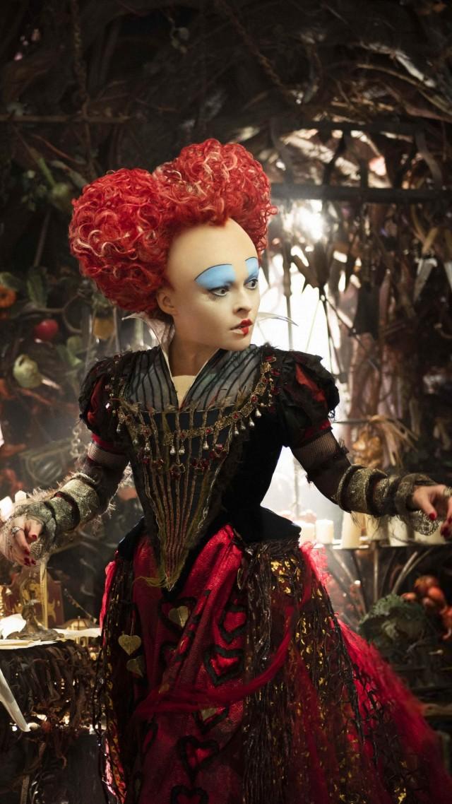 Wallpaper Alice Through The Looking Glass Helena Bonham