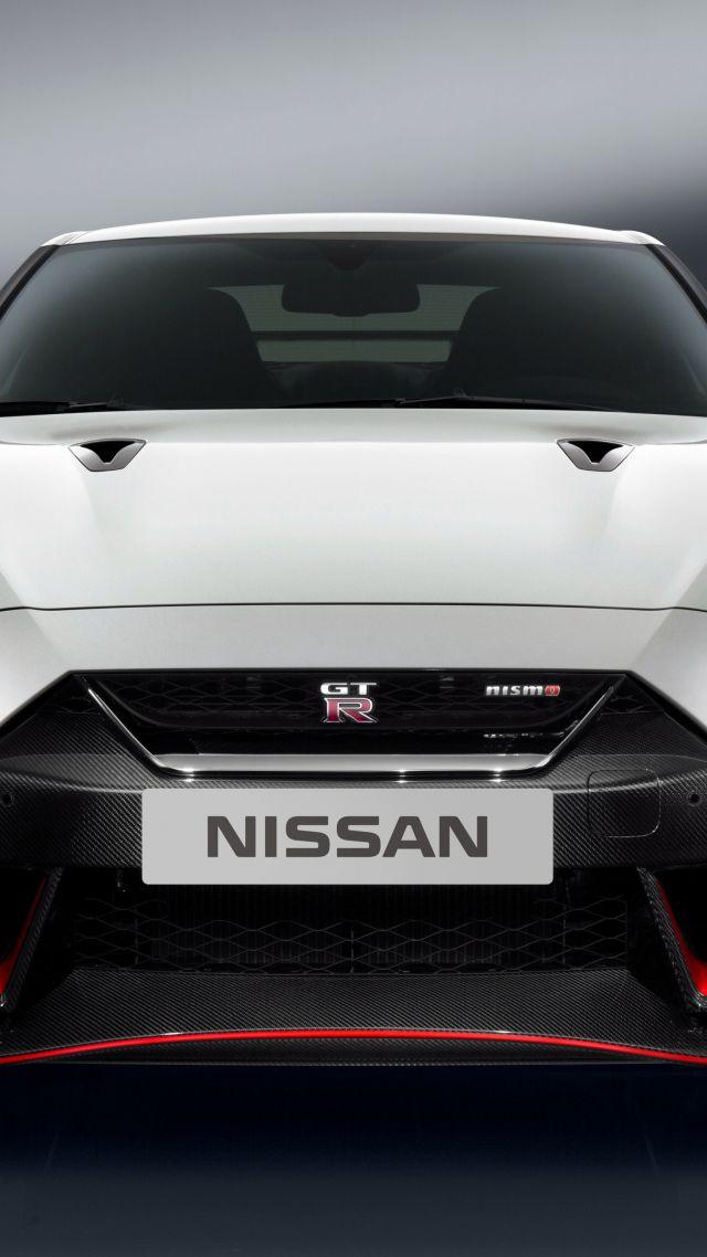 Wallpaper Nissan GT-R Nismo, white, sport car, Cars ...