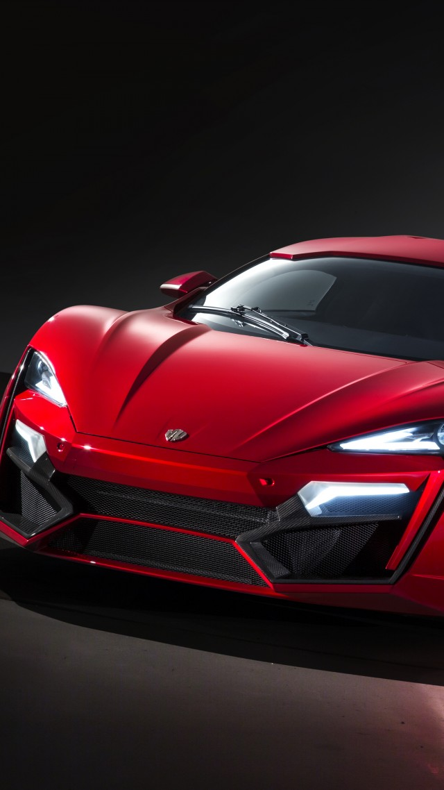 Wallpaper Lykan HyperSport supercar W Motors sports car speed