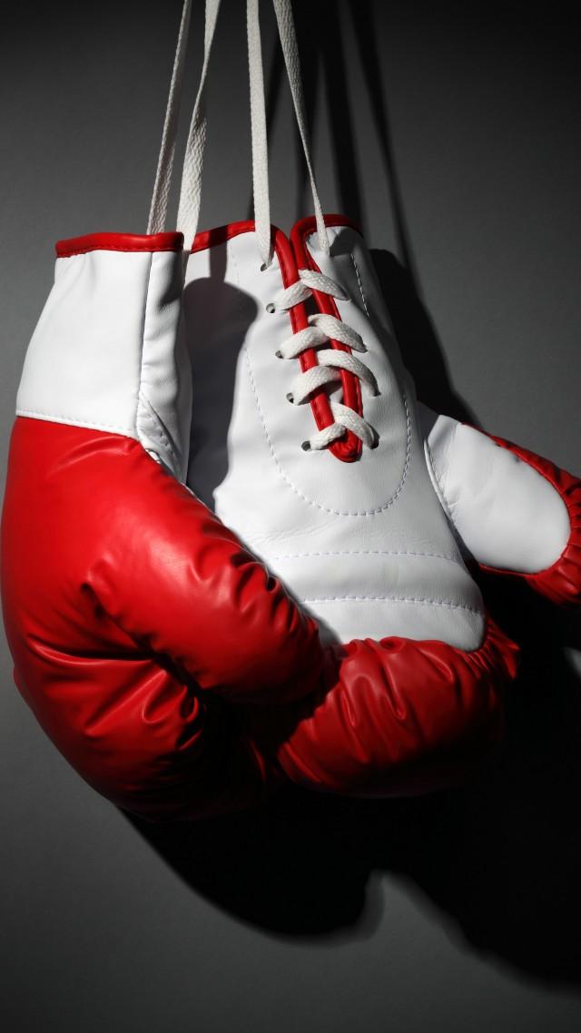 wallpaper boxing gloves red white boxing sport 11067