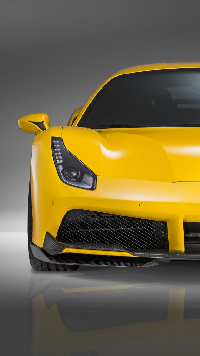 speed novitec rosso ferrari 488 gtb supercar yellow speed - Ferrari 488 Iphone Wallpaper