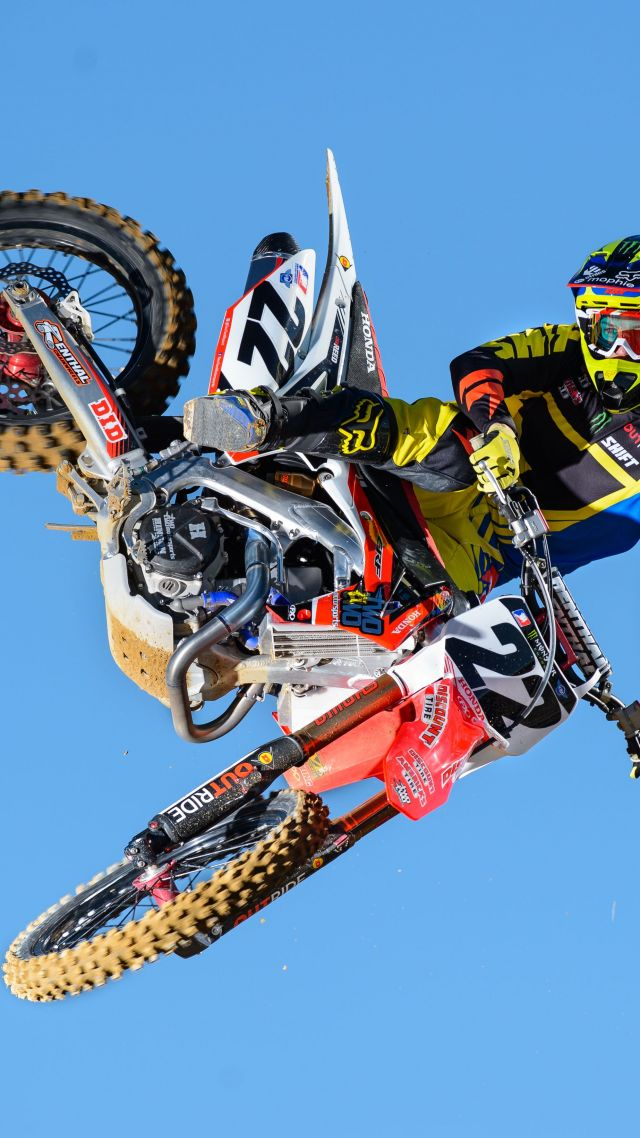 Chad Reed, motocross, fmx, rider (vertical)