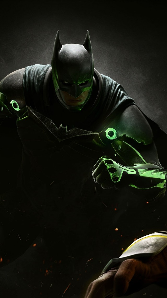 Injustice 2, batman, superman, fighting, PC, PlayStation, PS4, Xbox One (vertical)