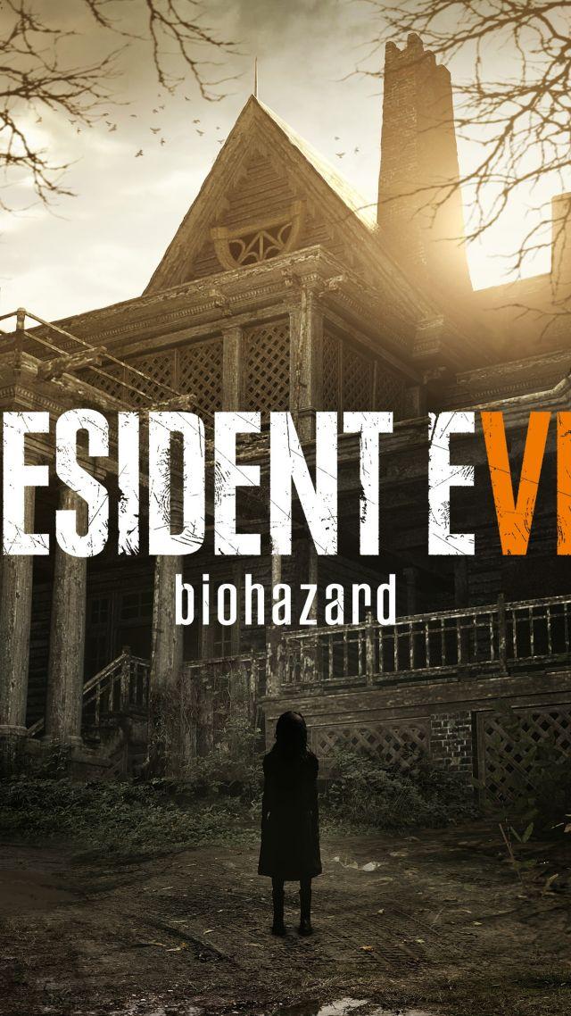 Wallpaper Resident Evil 7 Biohazard E3 2016 Zombie Horror