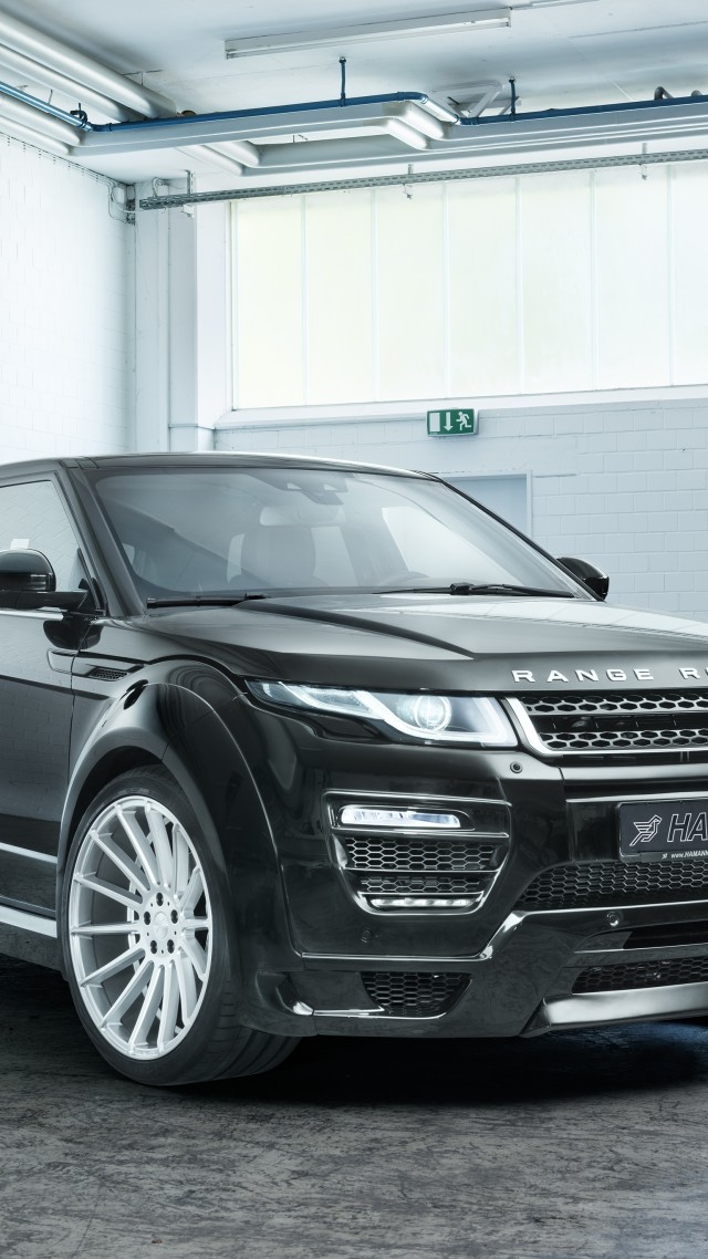 Wallpaper Range Rover Evoque Hamann Black Cars Bikes 11345