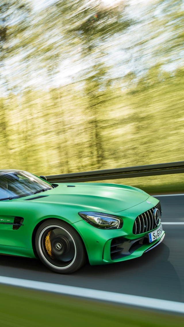Wallpaper Mercedes Amg Gt R Green Goodwood Festival Of Speed 2016