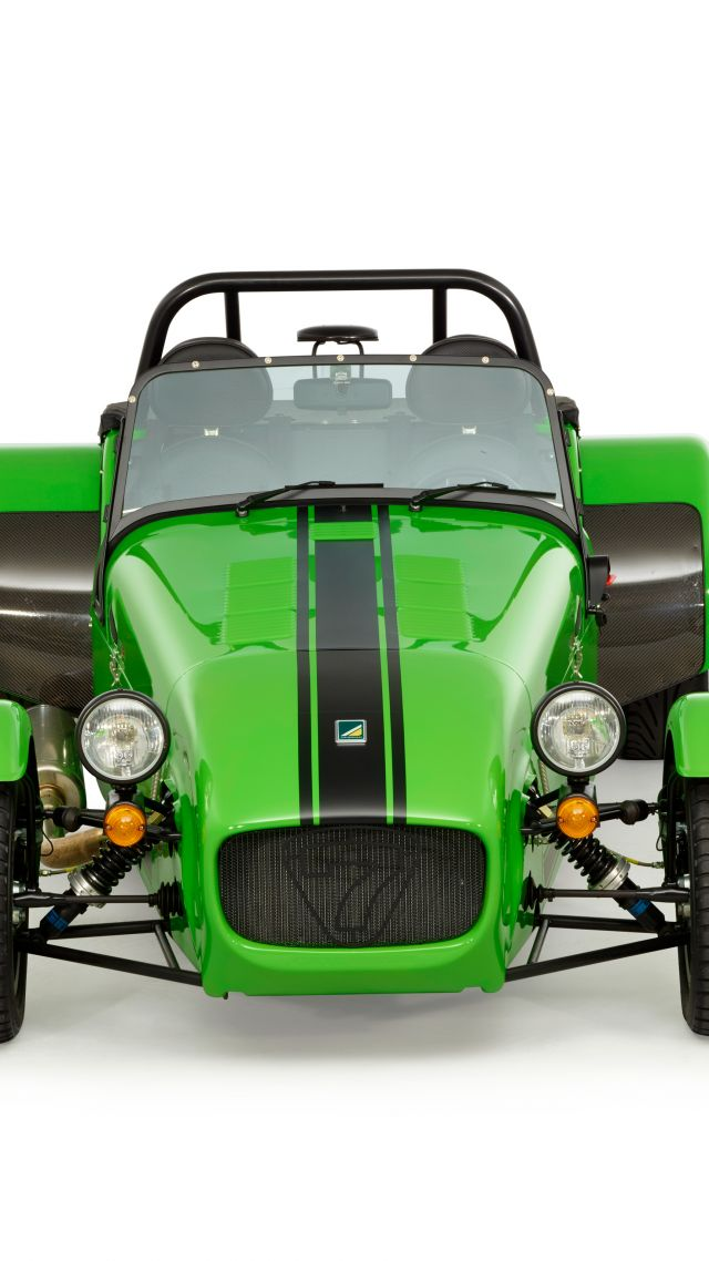 Caterham seven 275 r, caterham 7, green