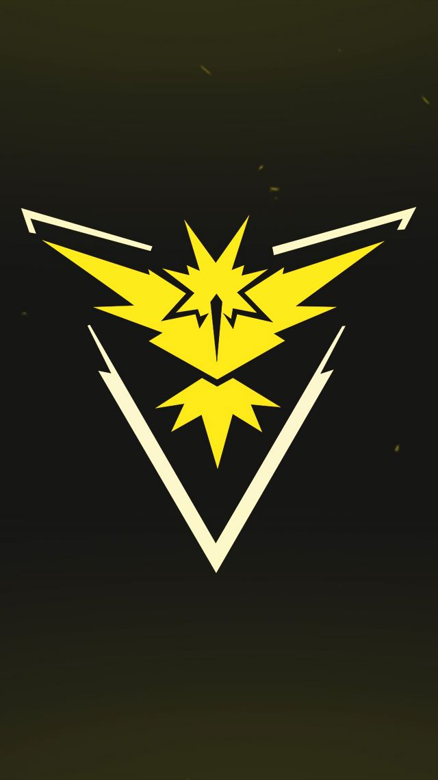 Pokemon Go Logo Yellow Team Instinct Mobile Nintendo 11559