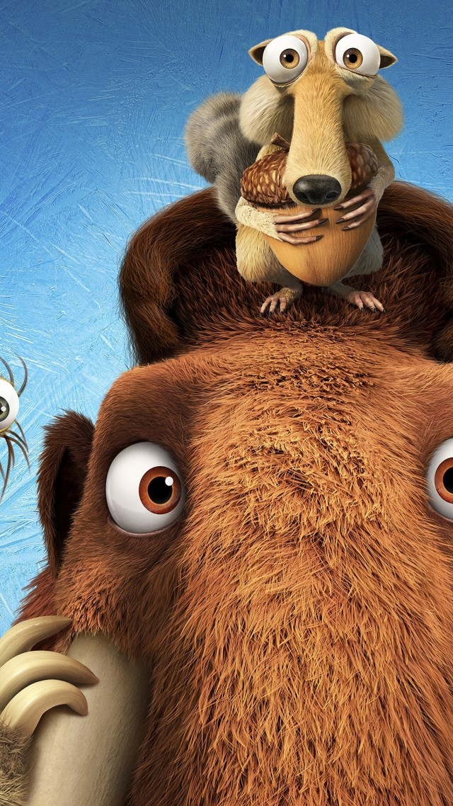 Ice Age 5: Collision Course, diego, manny, scrat, sid, mammoths, best animations of 2016 (vertical)