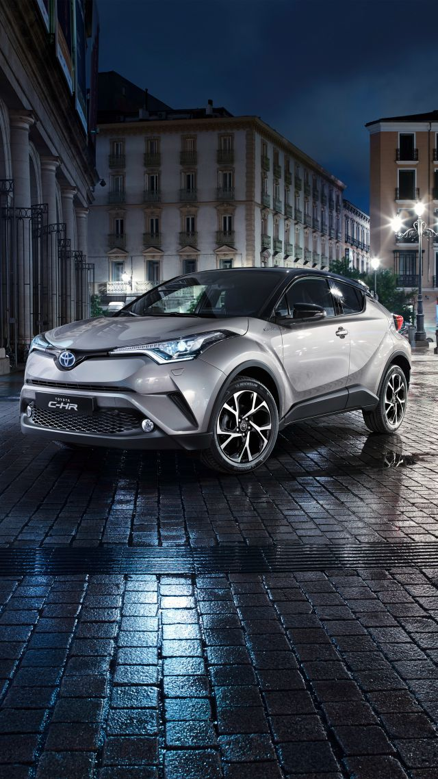 Toyota C-HR, crossover (vertical)