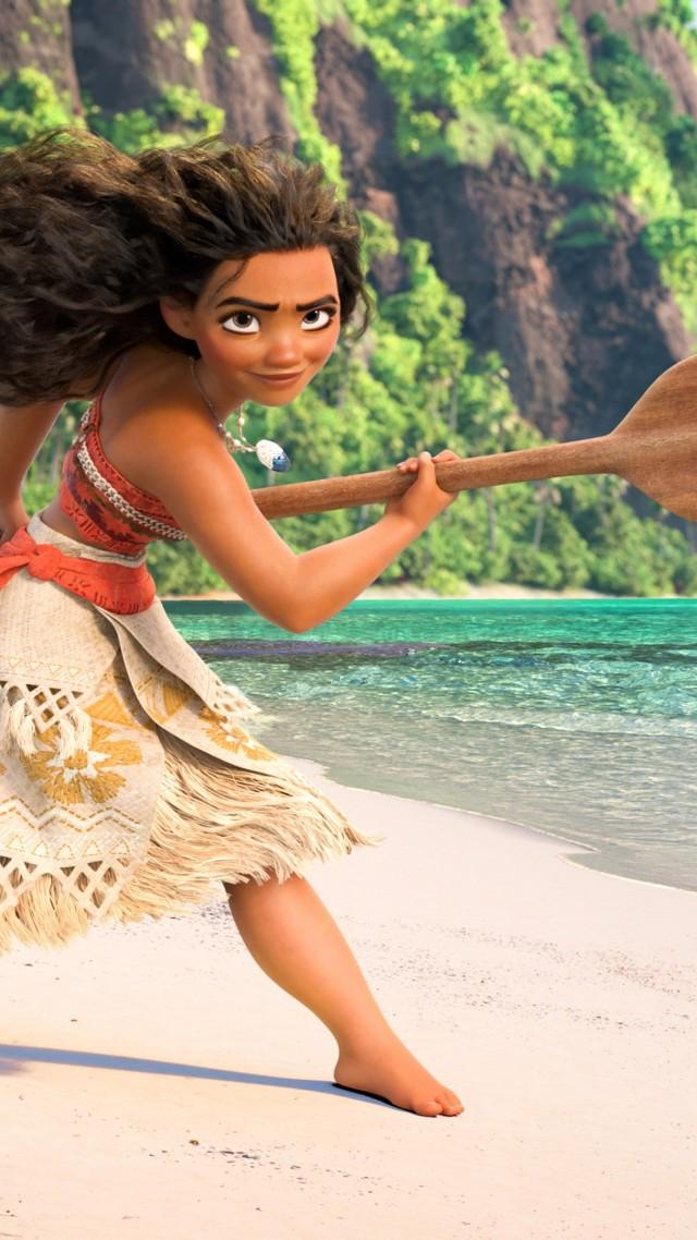 Wallpaper Moana, best animation movies