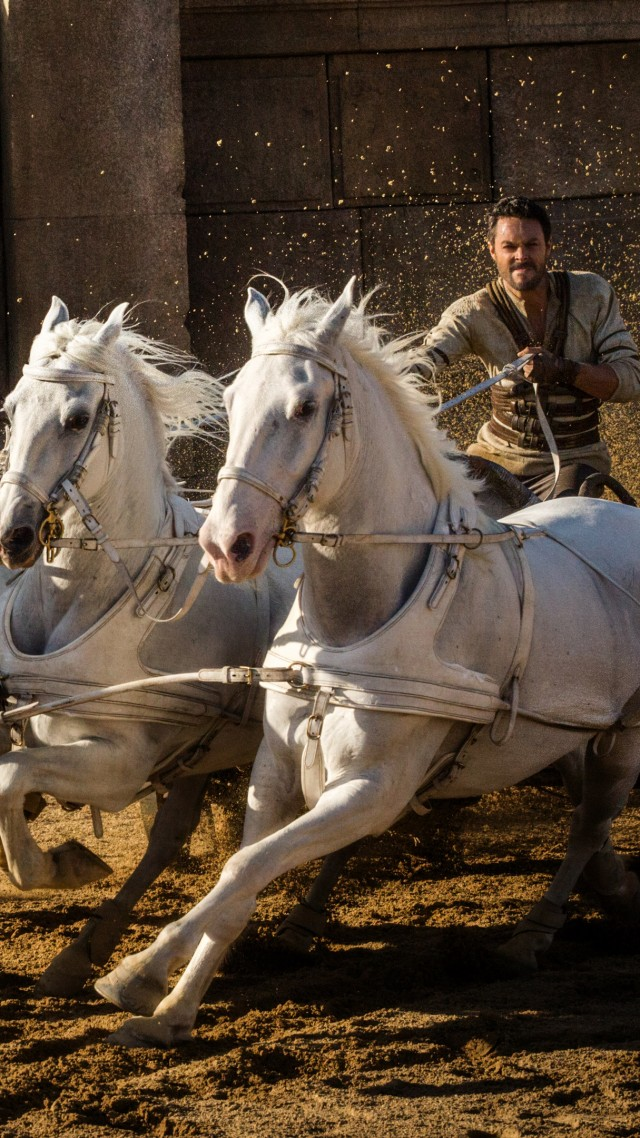 Ben-Hur, Jack Huston, horses, best movies of 2016 (vertical)