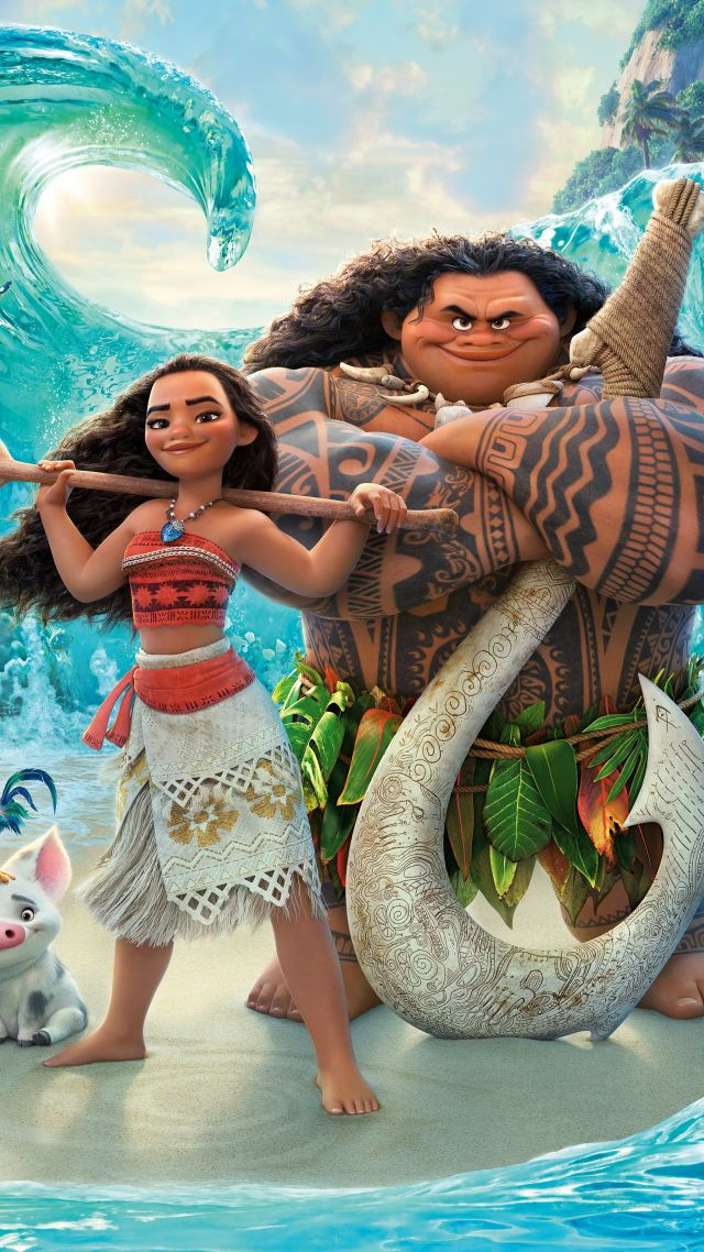 Moana, maui, best animation movies of 2016 (vertical)