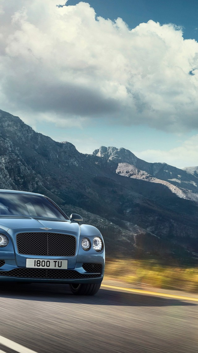 BENTLEY FLYING SPUR W12 S, paris auto show 2016, luxury cars (vertical)