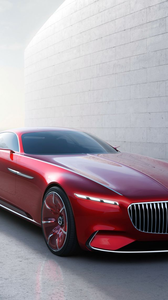 wallpaper vision mercedes maybach 6 electric cars luxury cars red cars bikes 11764. Black Bedroom Furniture Sets. Home Design Ideas