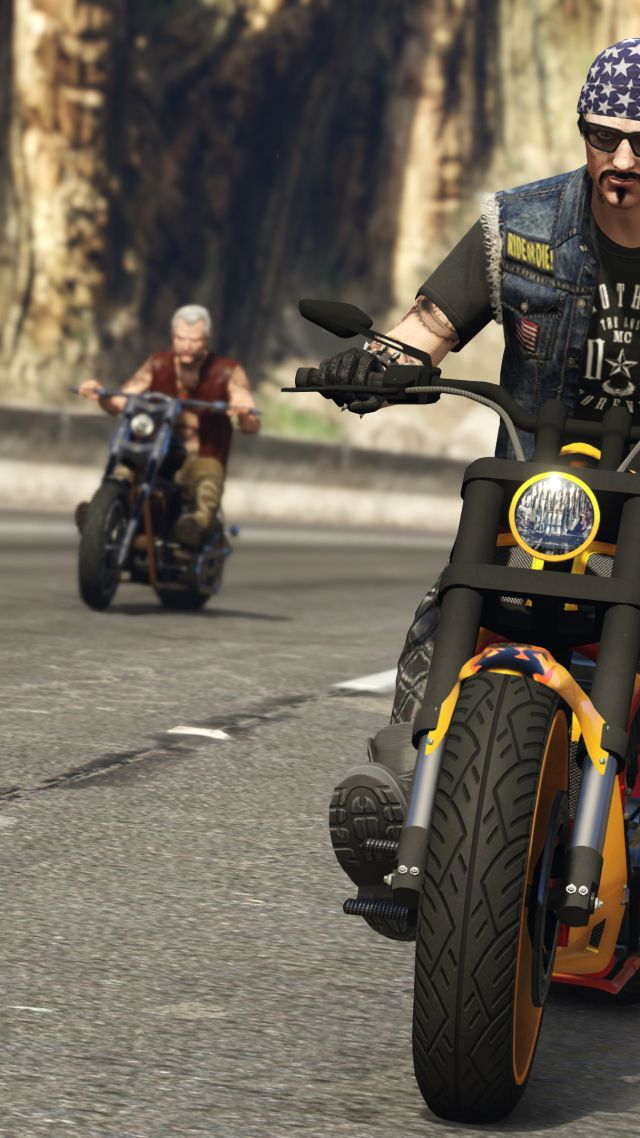 Wallpaper GTA Online: Bikers, gta, gta 5, best games