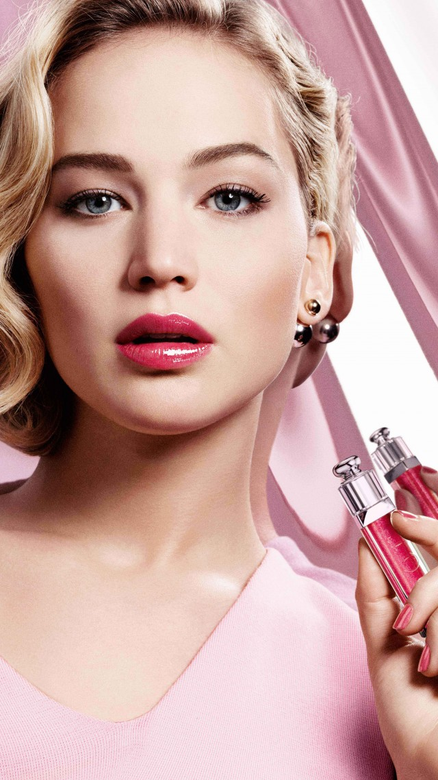 Jennifer Lawrence, dior addict, Most popular celebs, actress (vertical)