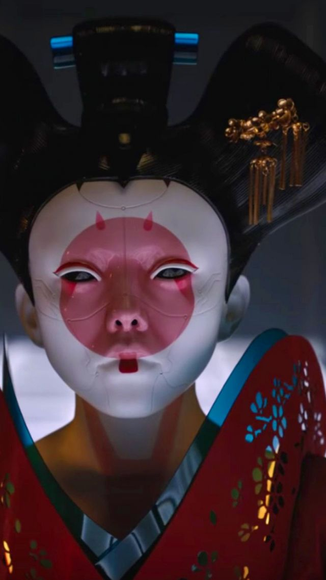 Ghost in the Shell, geisha, best movies (vertical)